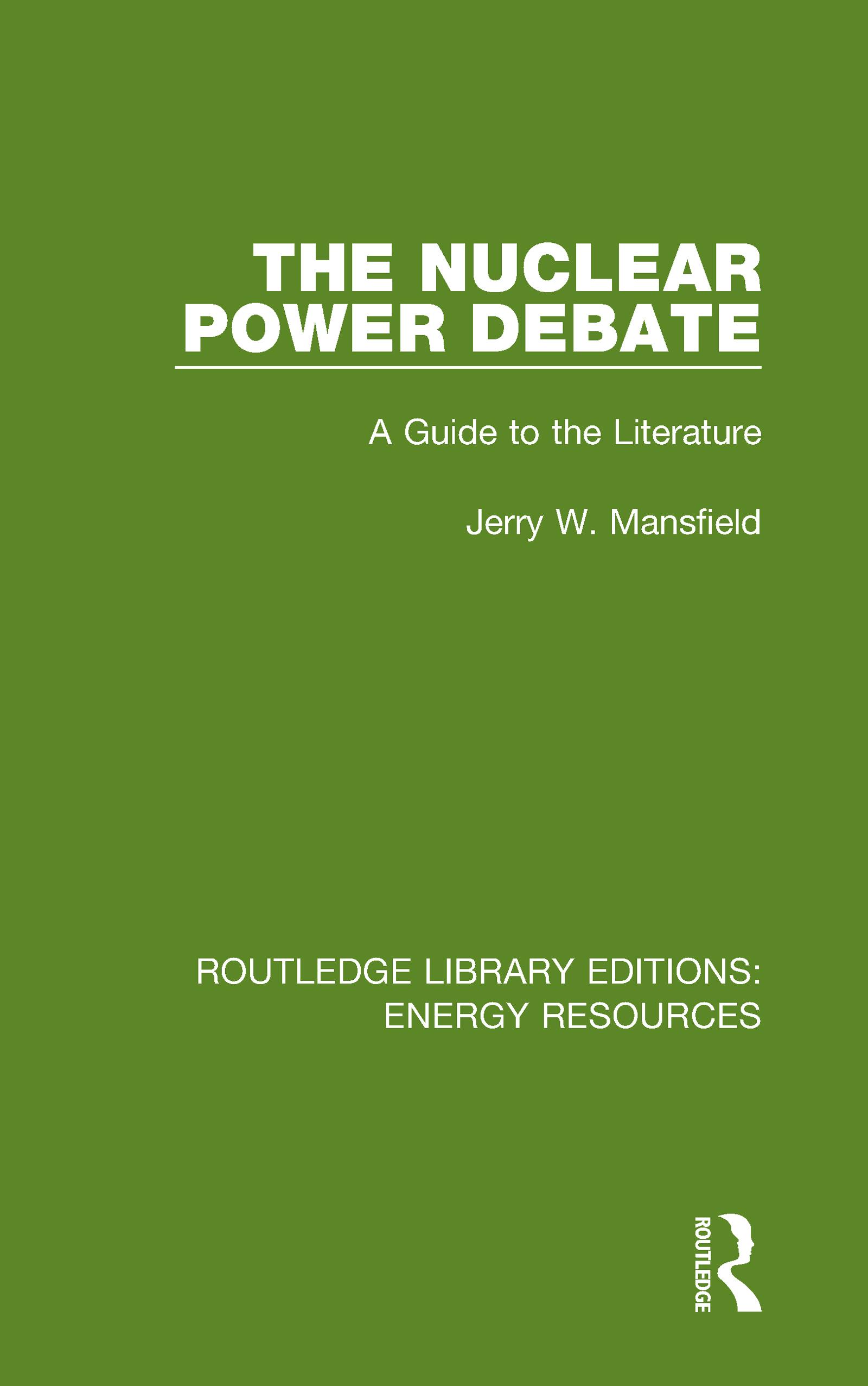 The Nuclear Power Debate
