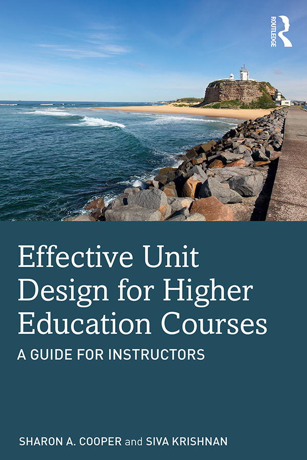 Effective Unit Design for Higher Education Courses