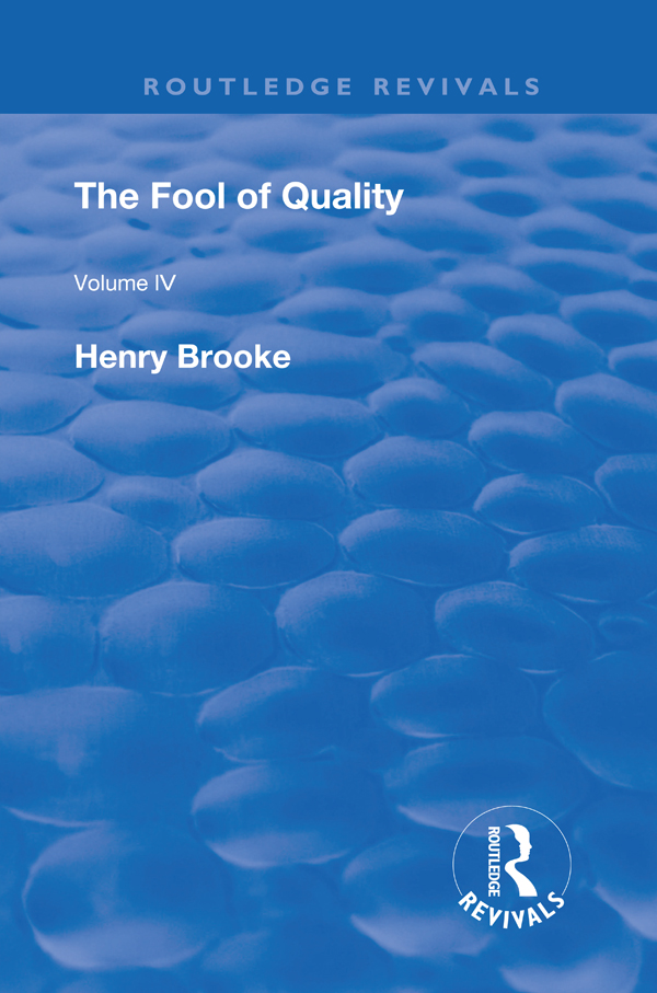 The Fool of Quality: Volume 4 book cover
