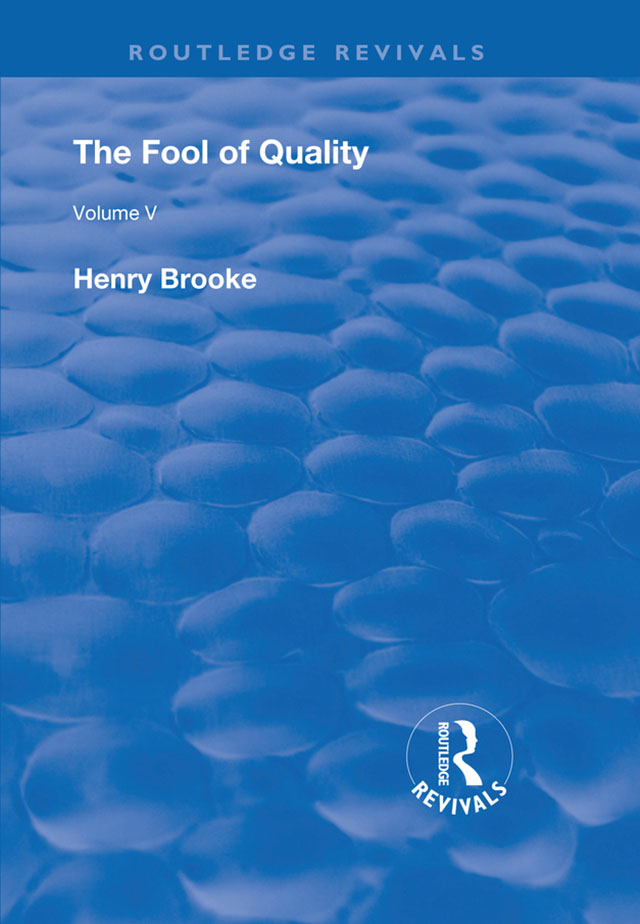 The Fool of Quality: Volume 5 book cover