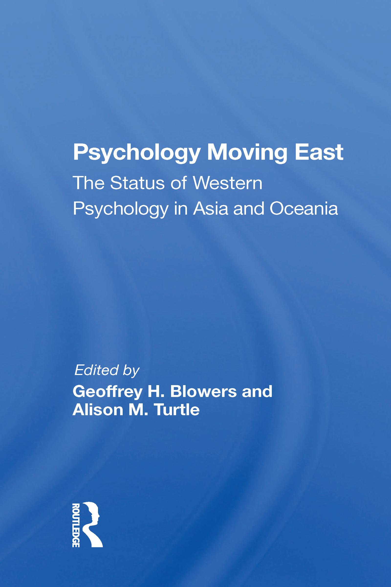 Psychology Moving East