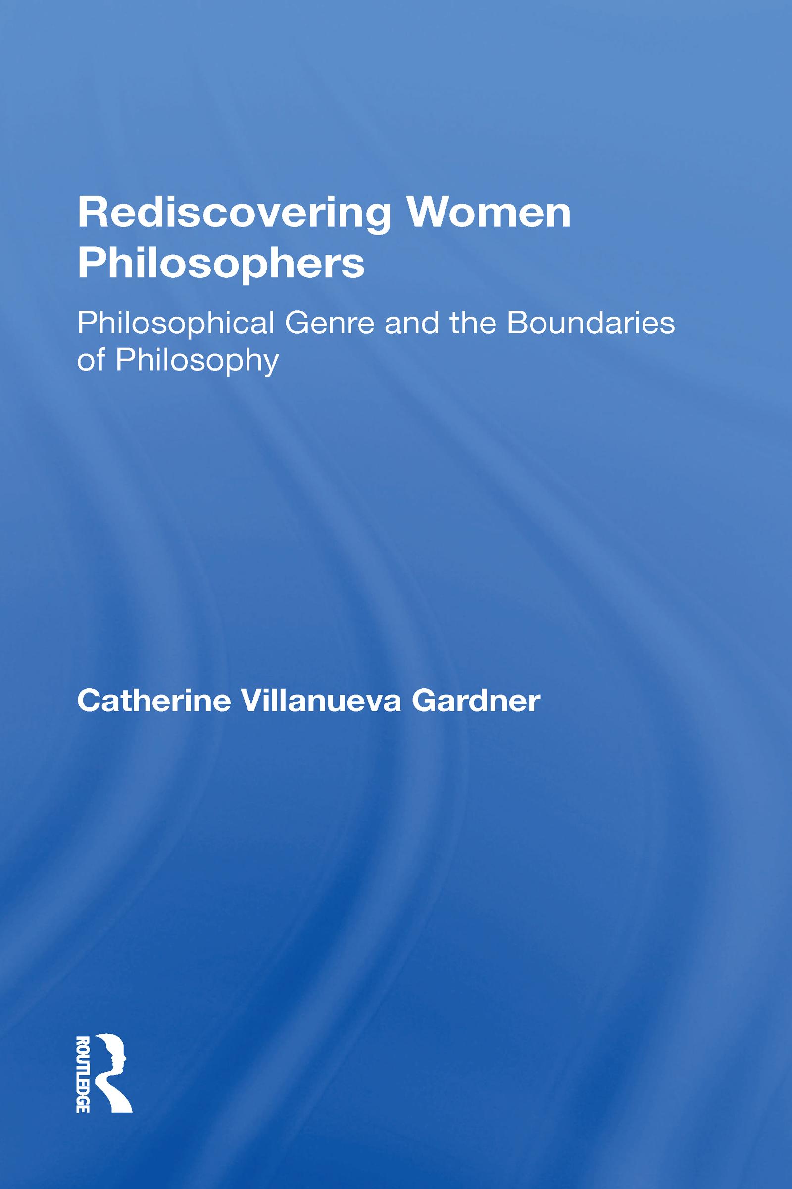 Rediscovering Women Philosophers