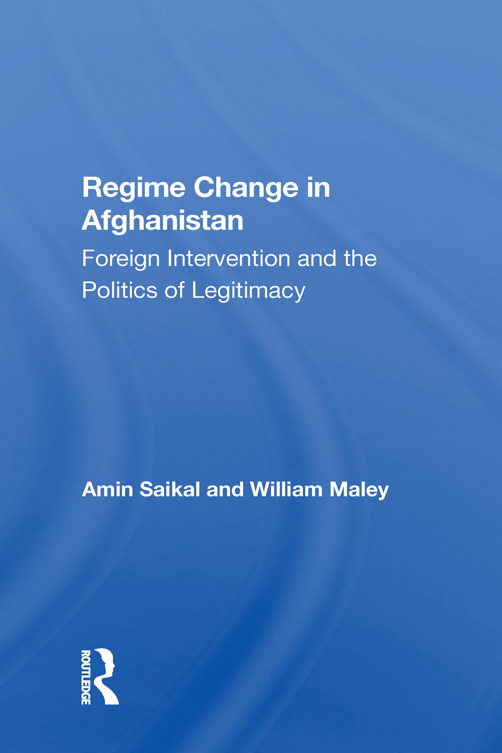Regime Change In Afghanistan