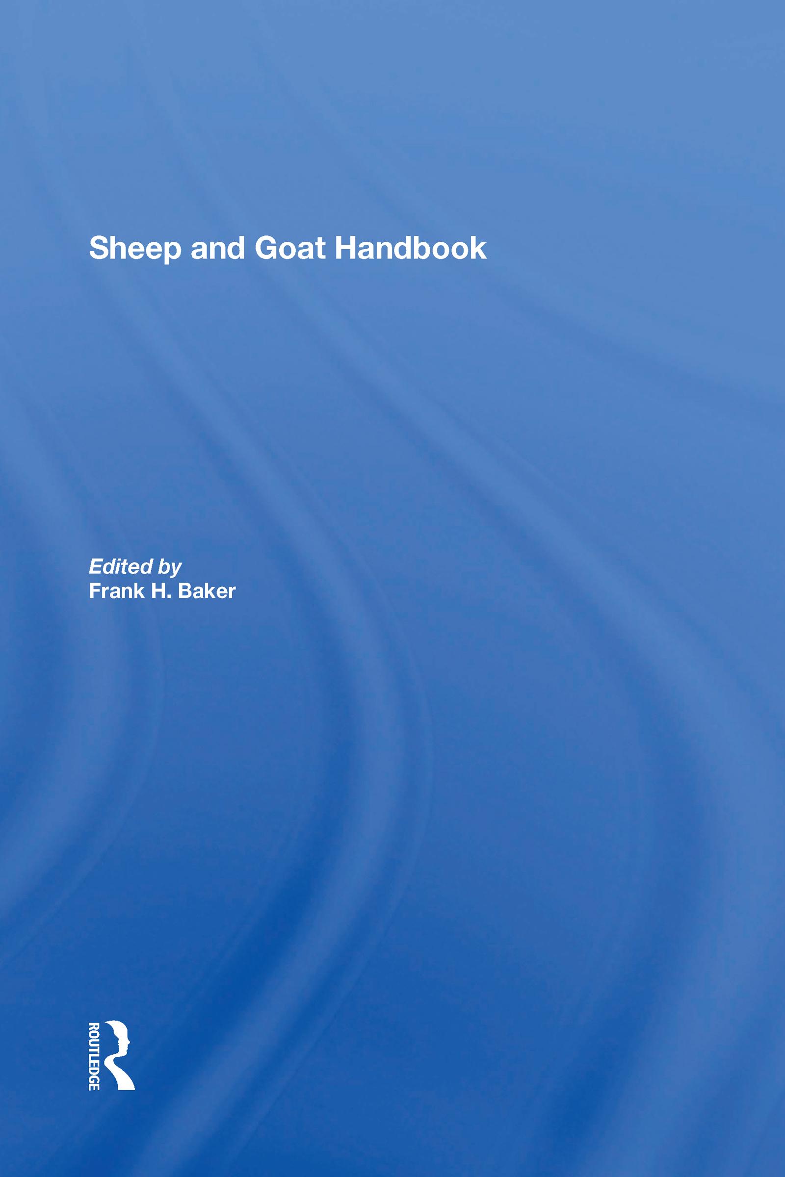 Sheep And Goat Handbook, Vol. 3