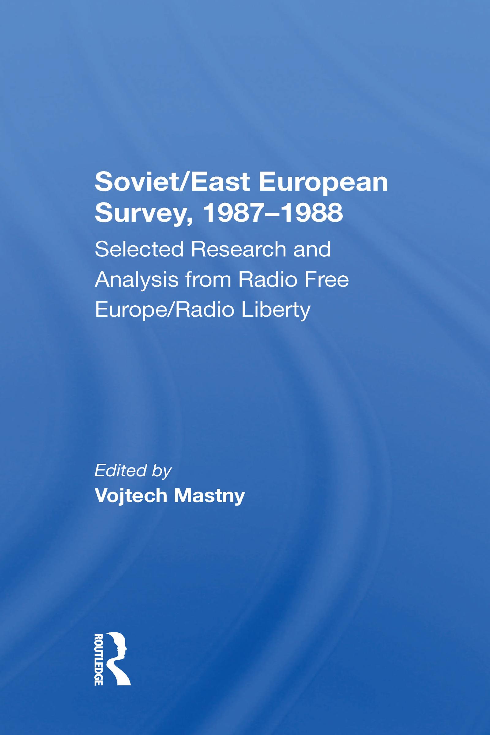 Soviet/east European Survey, 1987-1988