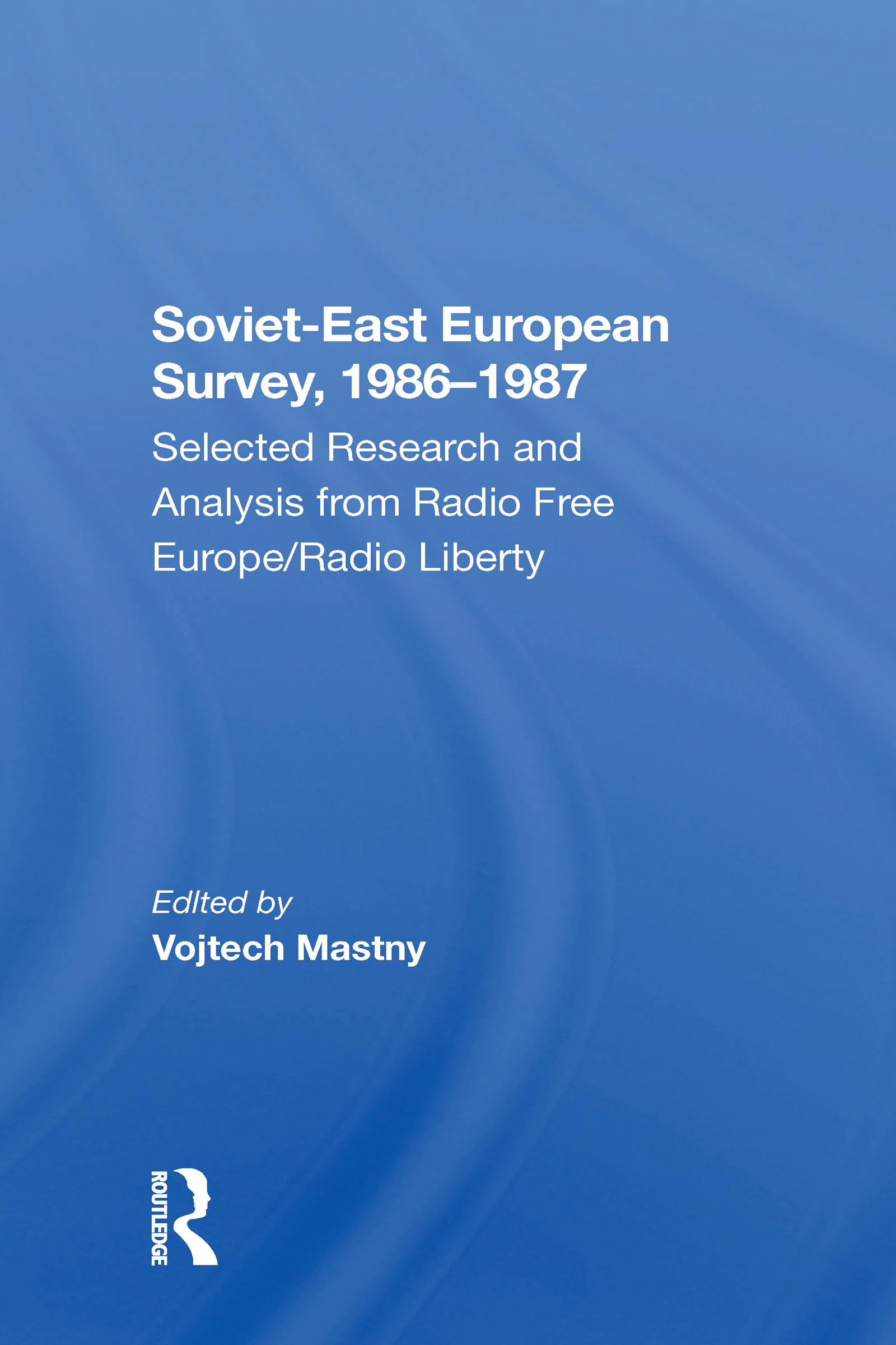 Soviet-east European Survey, 1986-1987