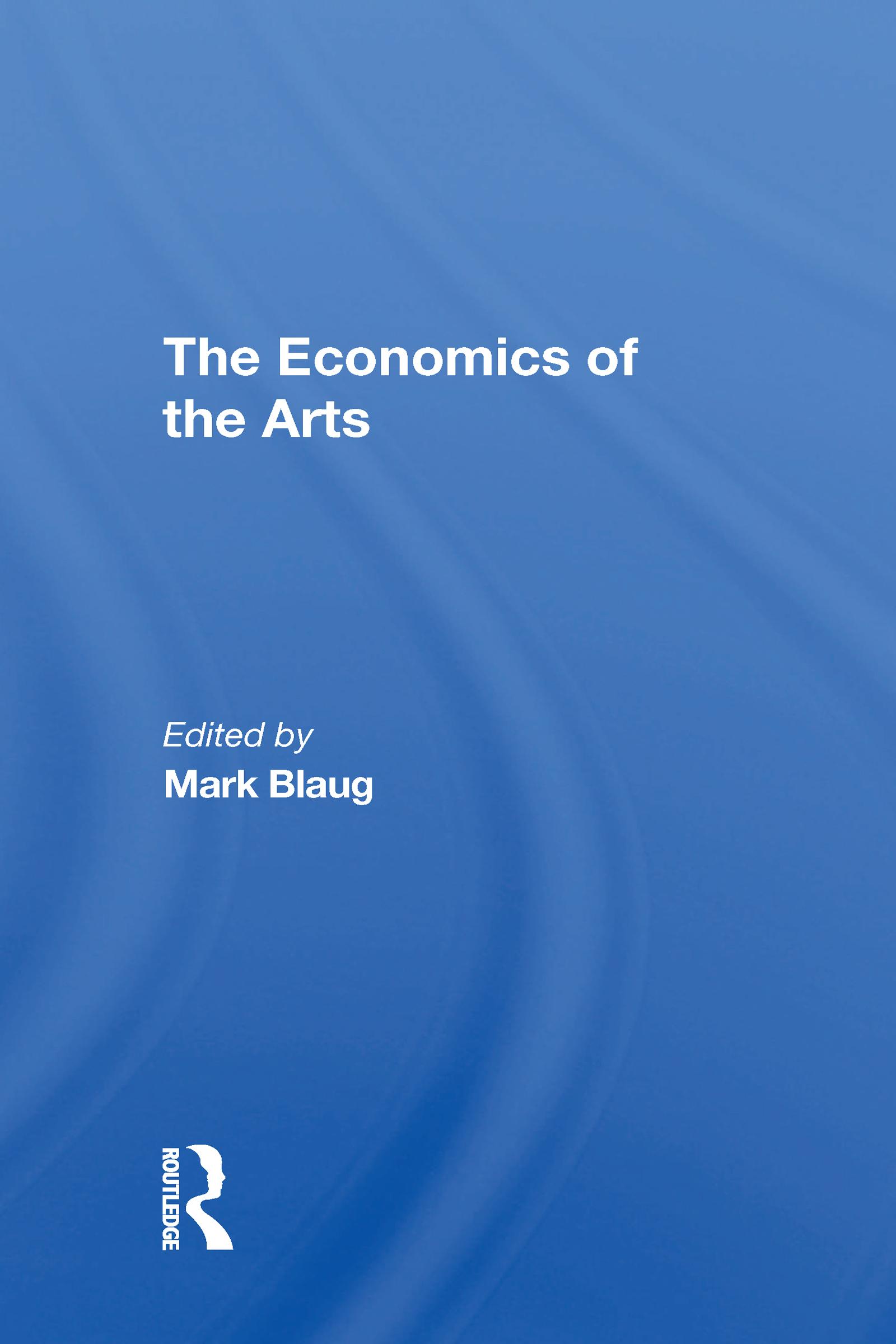 The Economics Of The Arts