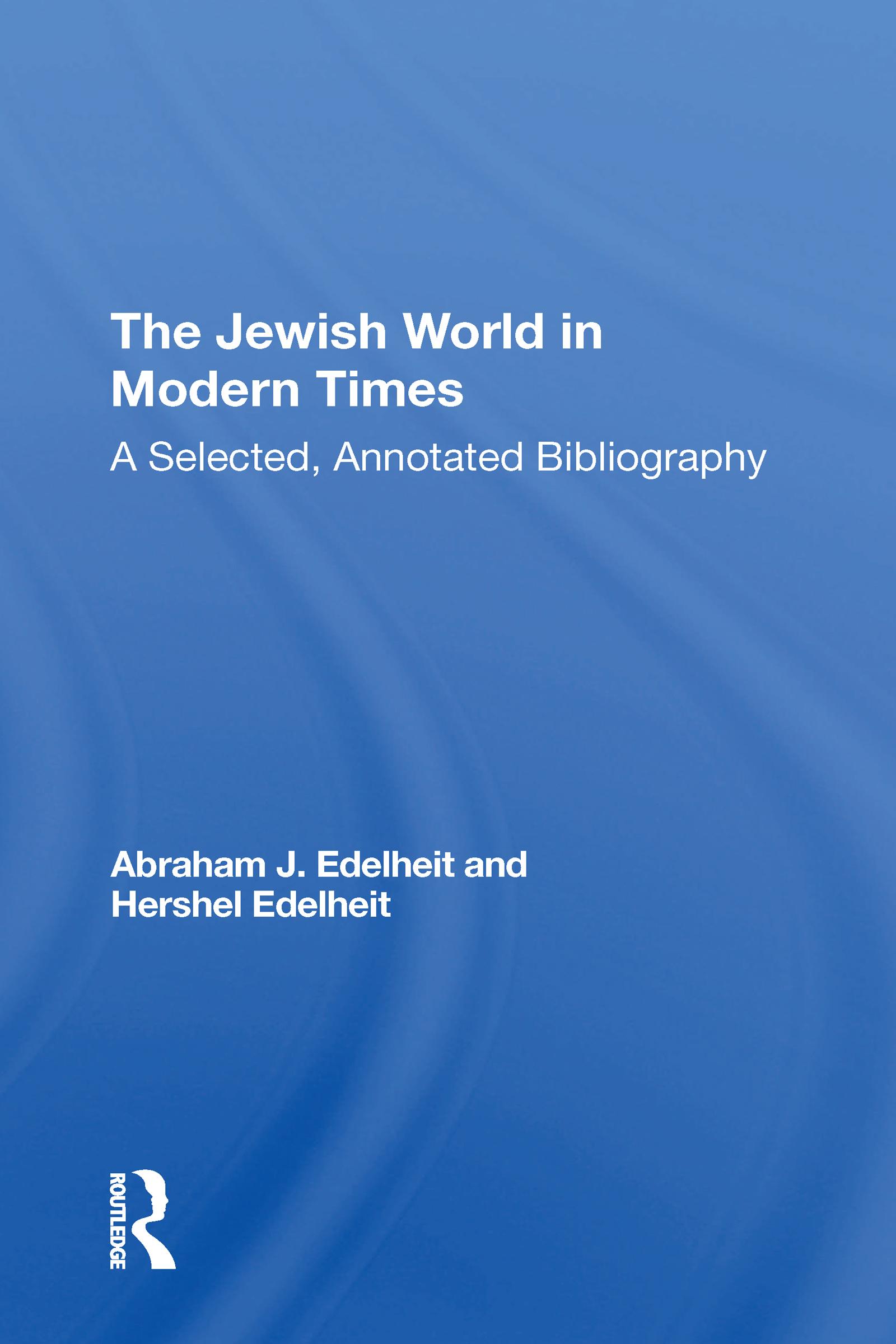 The Jewish World In Modern Times