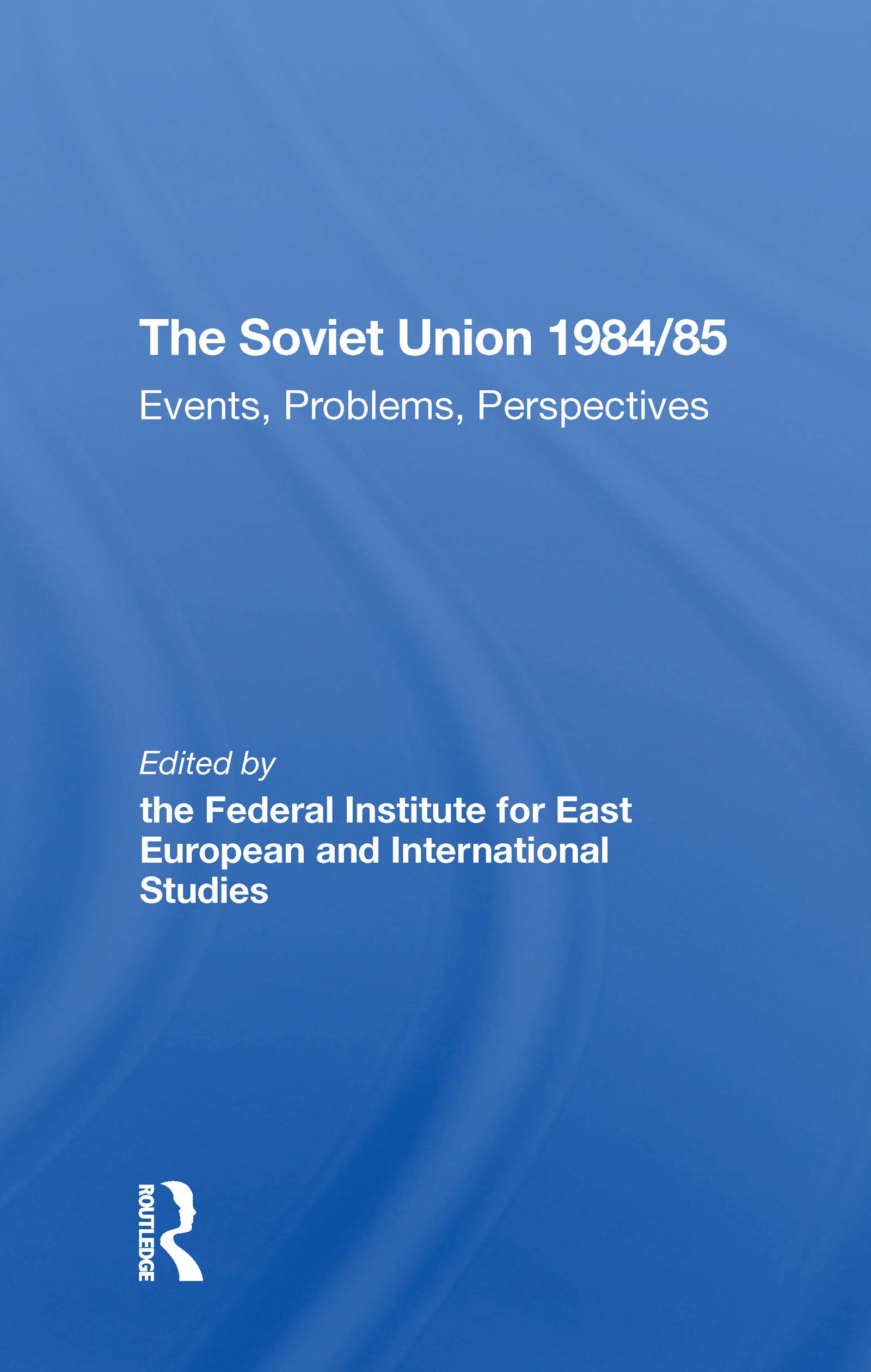 The Soviet Union 1984/85
