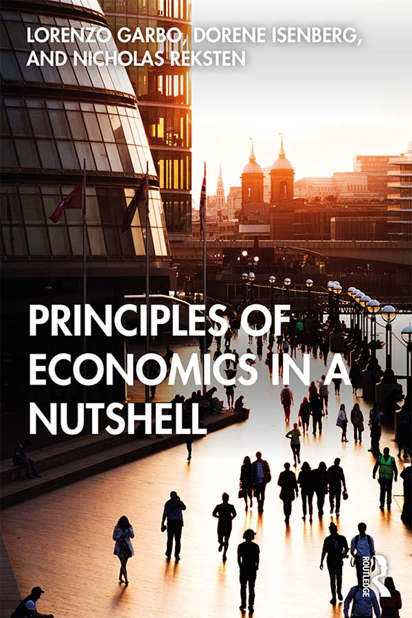 Principles of Economics in a Nutshell book cover