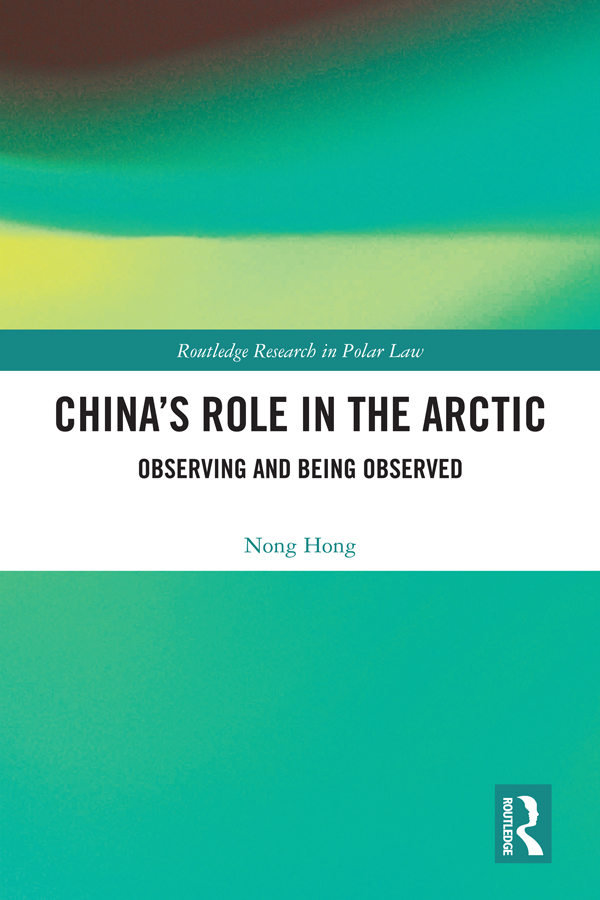 China's Role in the Arctic