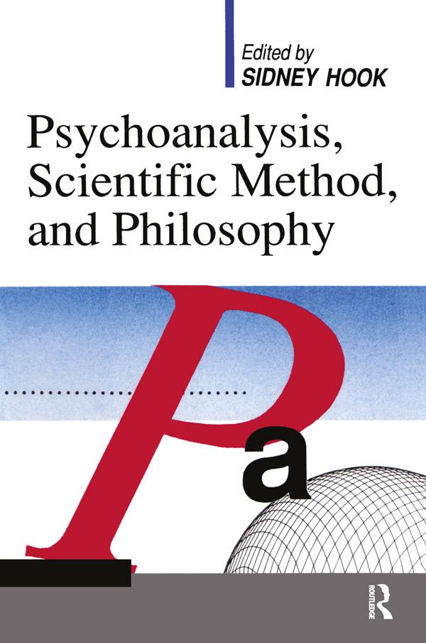 Psychoanalysis and Scientific Method