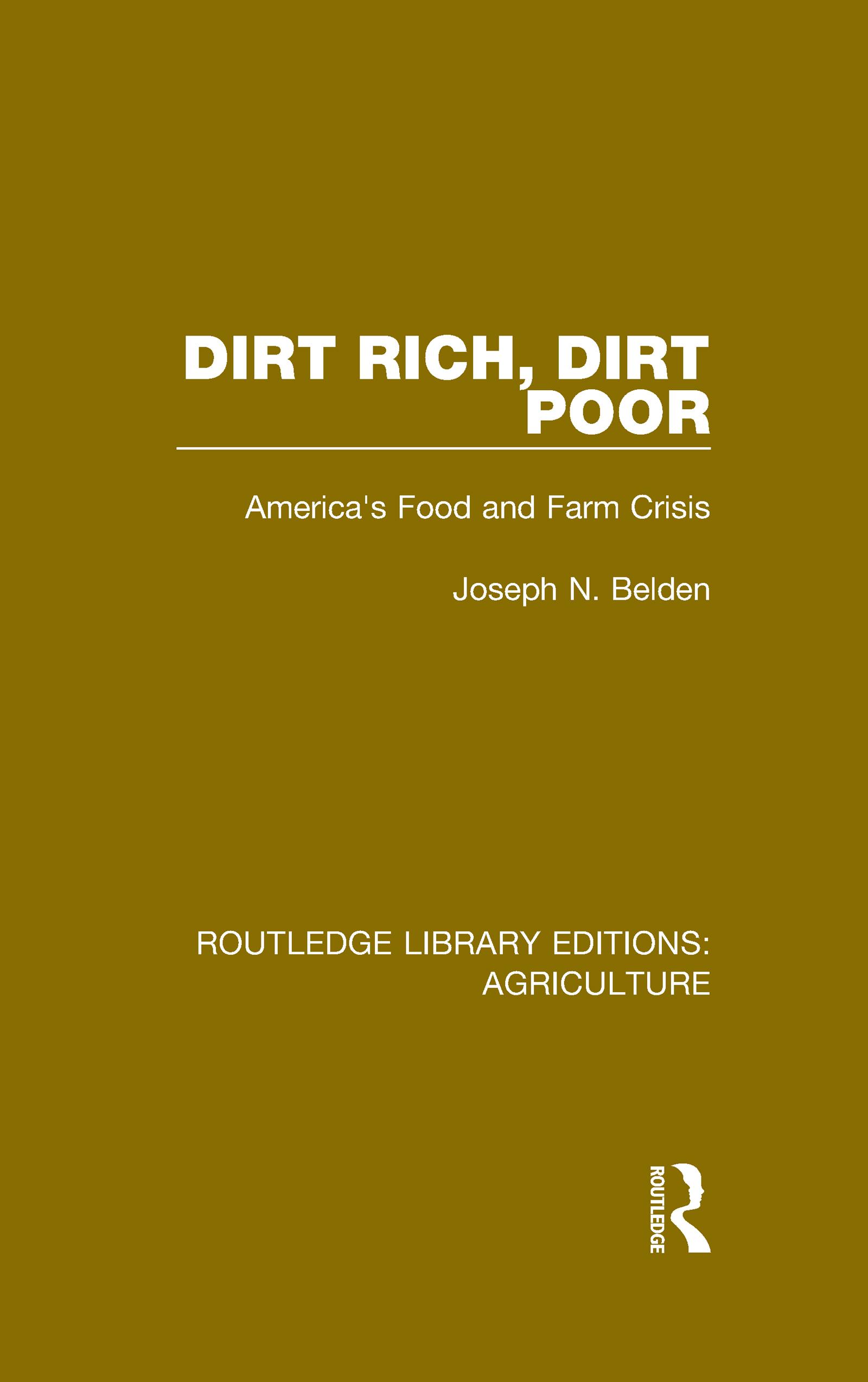 Dirt Rich, Dirt Poor