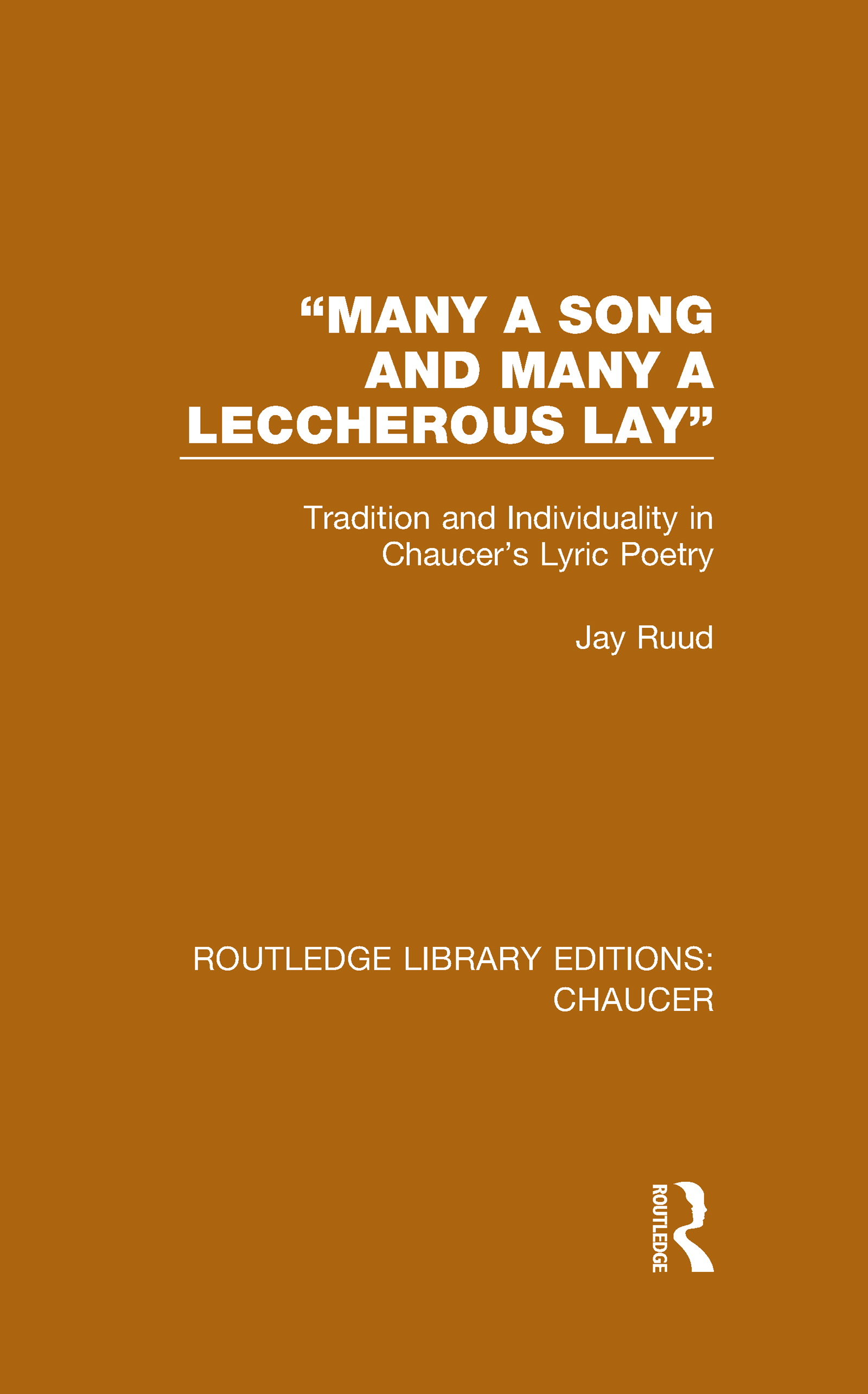 """""""Many a Song and Many a Leccherous Lay"""""""