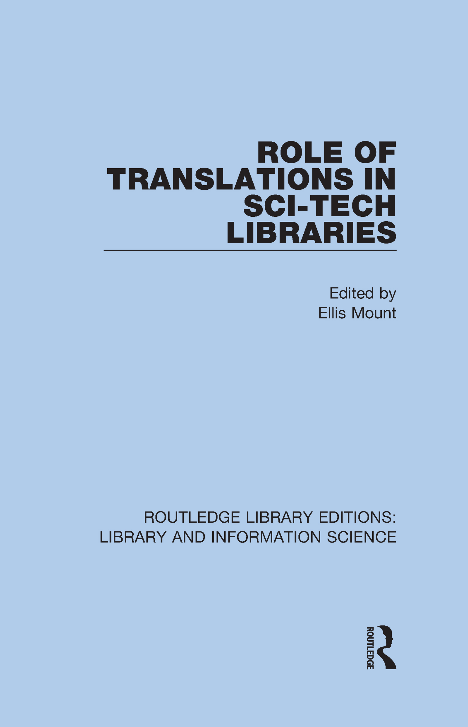 Role of Translations in Sci-Tech Libraries