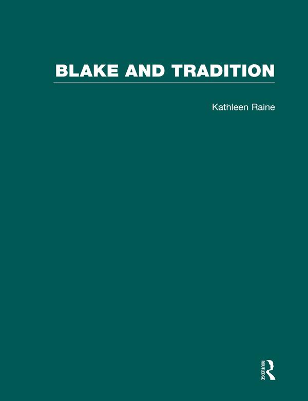 Blake & Tradition           V1