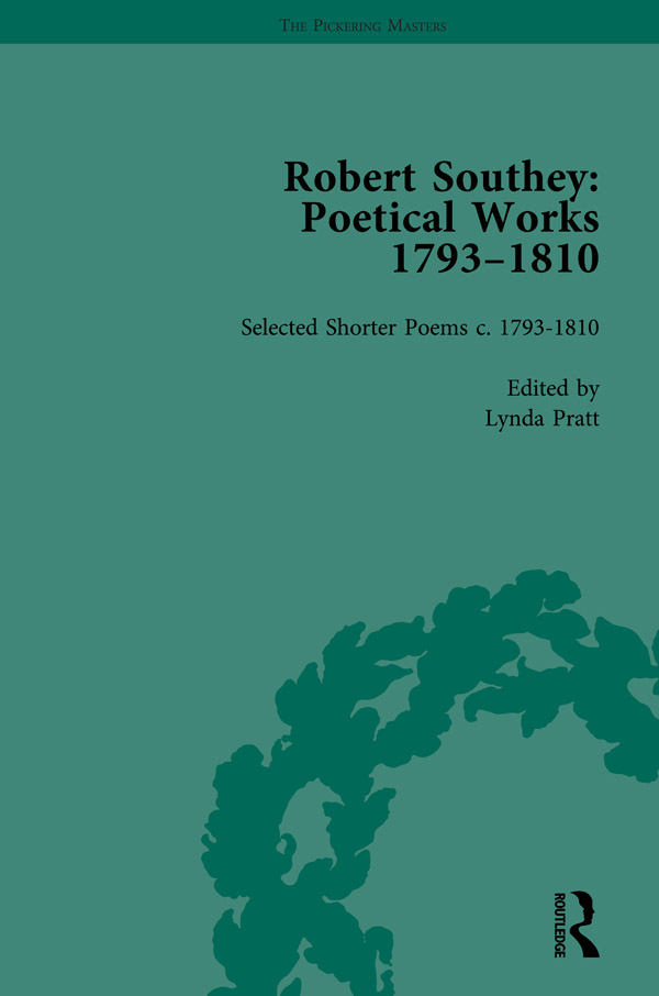 Robert Southey: Poetical Works 1793–1810 Vol 5