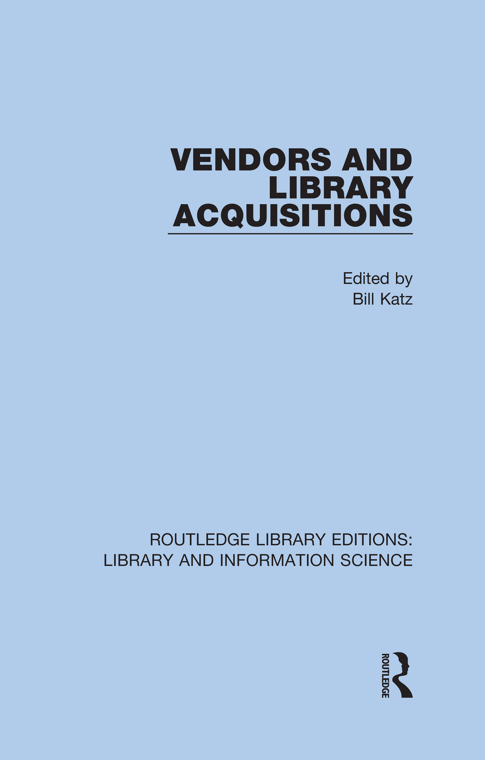 Vendors and Library Acquisitions