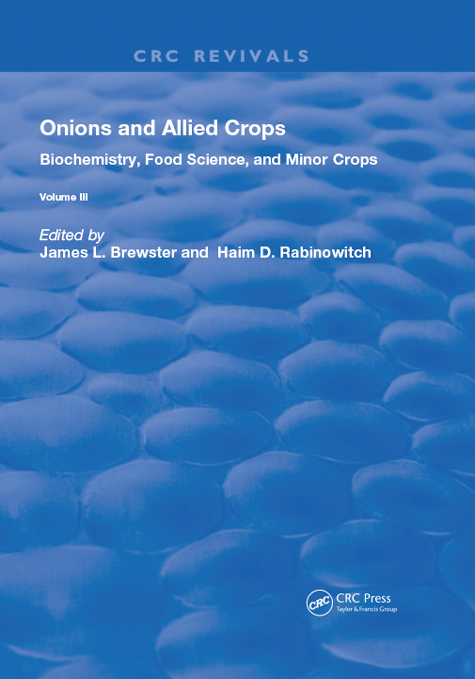 Onions and Allied Crops