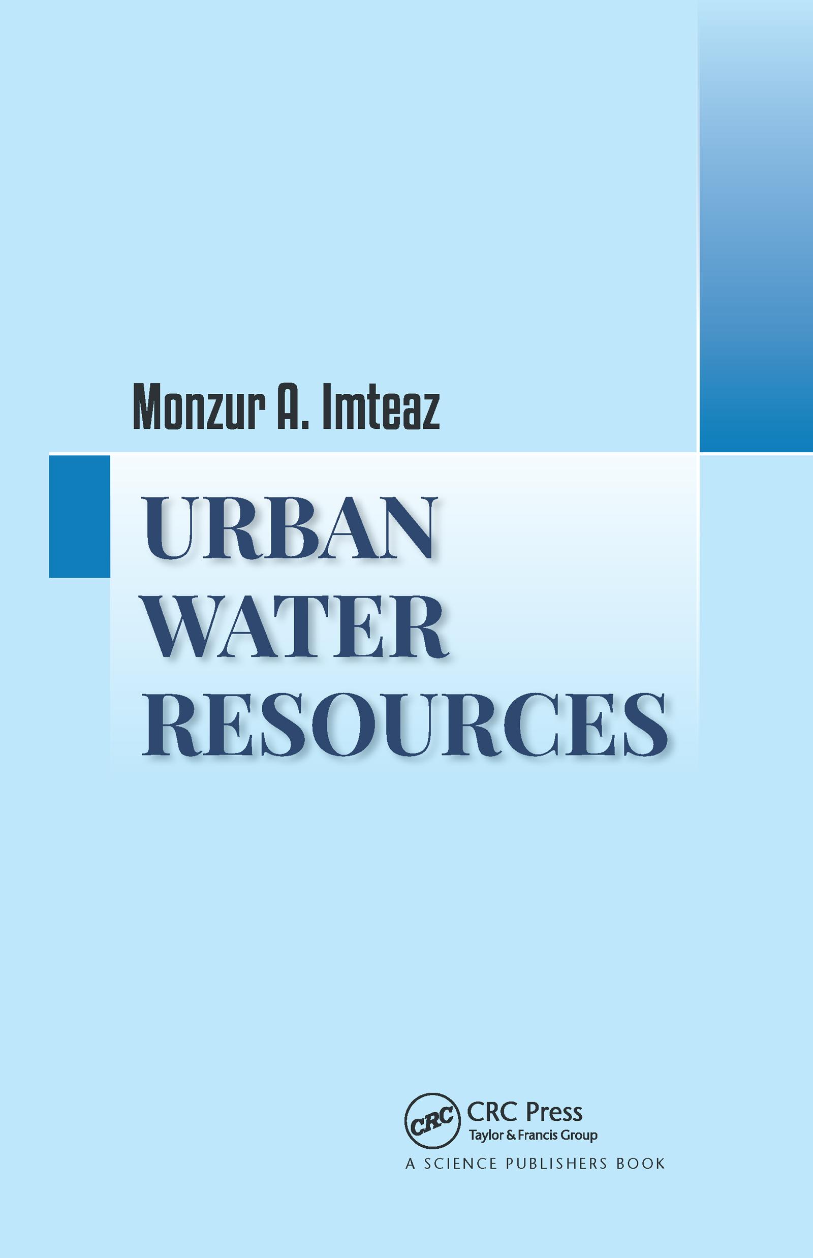 Urban Water Resources