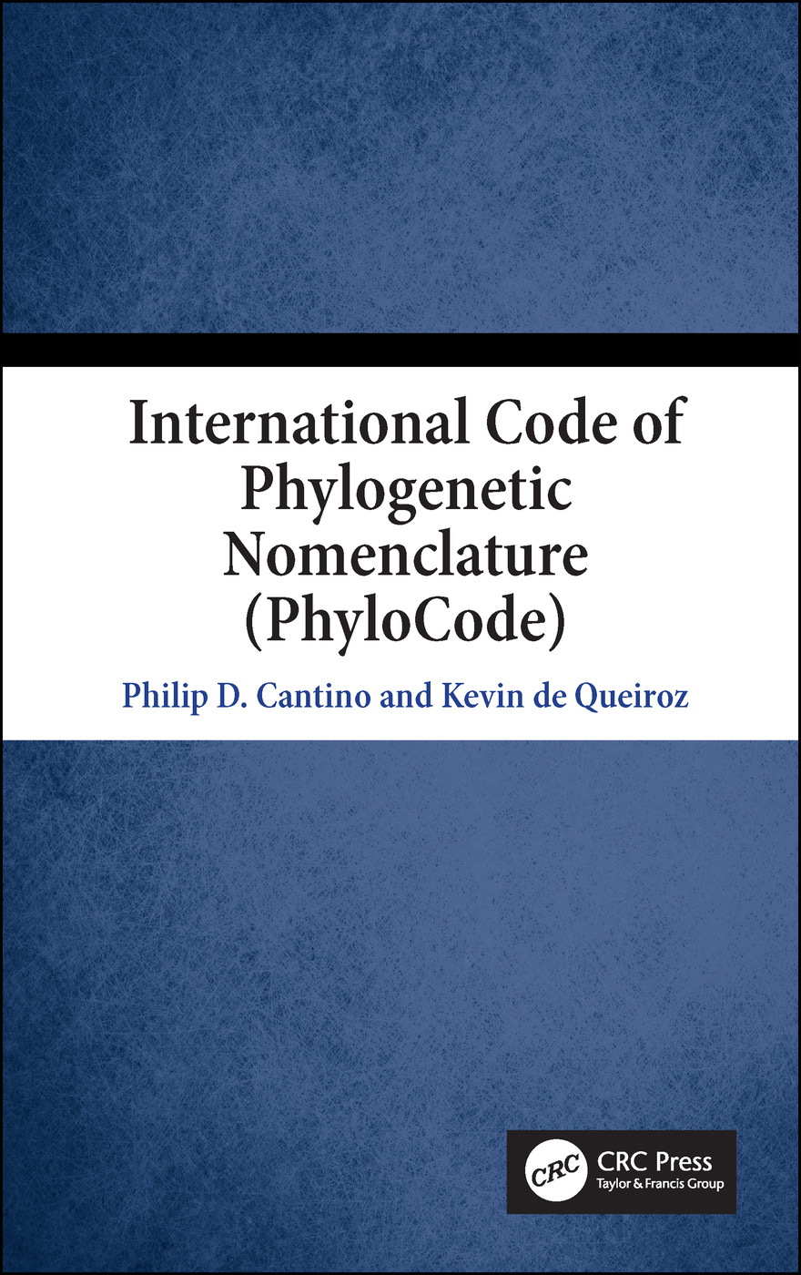 International Code of Phylogenetic Nomenclature (PhyloCode)