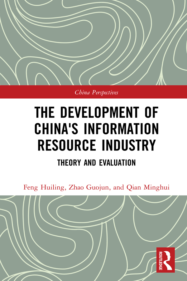 The Development of China's Information Resource Industry: Theory and Evaluation book cover