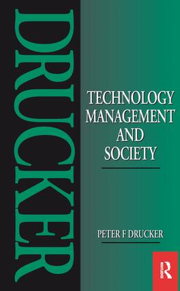 Technology, Management and Society (Paperback) book cover