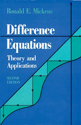 Difference Equations, Second Edition: 2nd Edition (Hardback) book cover