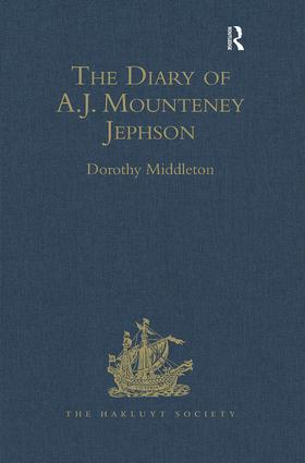 The Diary of A.J. Mounteney Jephson: Emin Pasha Relief Expedition, 1887–1889, 1st Edition (Hardback) book cover