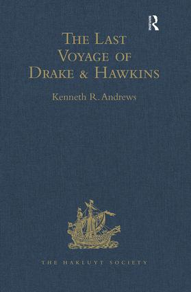 The Last Voyage of Drake and Hawkins: 1st Edition (e-Book) book cover