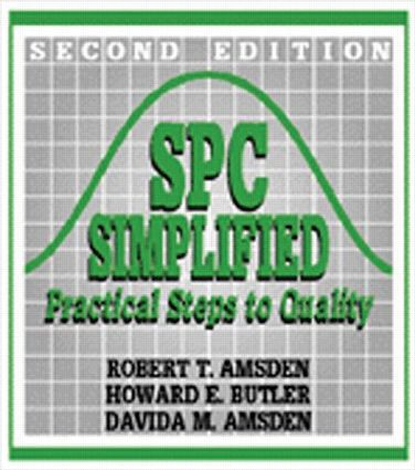 SPC Simplified: Practical Steps to Quality, 1st Edition (Paperback) book cover