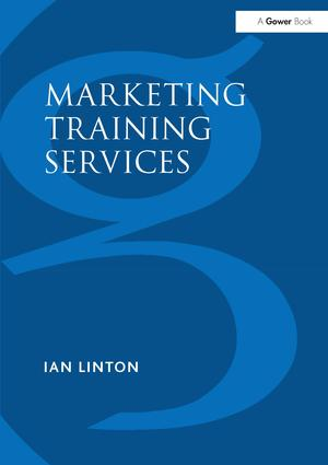 Marketing Training Services: 1st Edition (Paperback) book cover