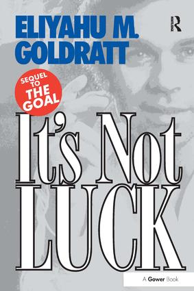 It's Not Luck: 1st Edition (Paperback) book cover