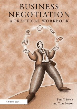 Business Negotiation: A Practical Workbook, 1st Edition (Paperback) book cover