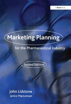 Marketing Planning for the Pharmaceutical Industry book cover