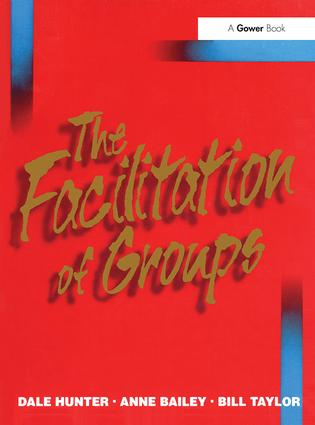 The Facilitation of Groups: 1st Edition (Paperback) book cover