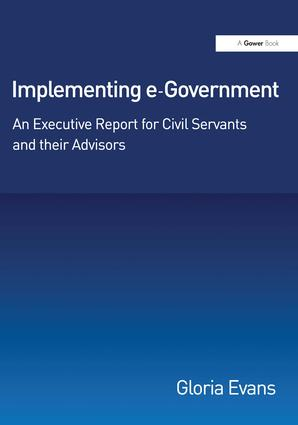 Implementing e-Government: An Executive Report for Civil Servants and their Advisors book cover