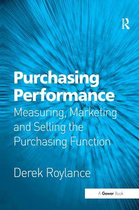 Measuring Supplier Performance