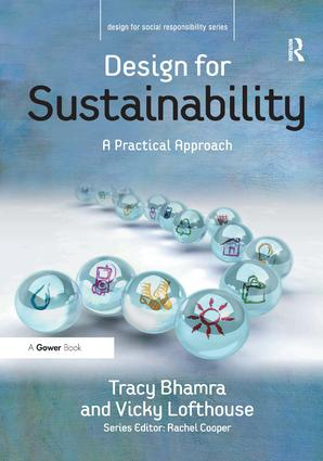 Design for Sustainability: A Practical Approach, 1st Edition (Hardback) book cover