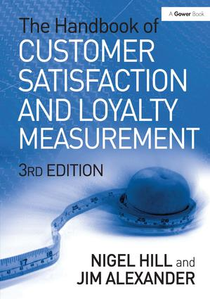 The Handbook of Customer Satisfaction and Loyalty Measurement: 3rd Edition (Hardback) book cover