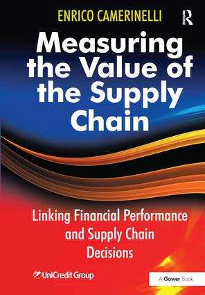 Measuring the Value of the Supply Chain: Linking Financial Performance and Supply Chain Decisions, 1st Edition (Hardback) book cover