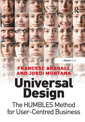 Universal Design: The HUMBLES Method for User-Centred Business, 1st Edition (Hardback) book cover