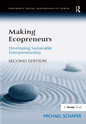 Making Ecopreneurs: Developing Sustainable Entrepreneurship, 2nd Edition (Hardback) book cover
