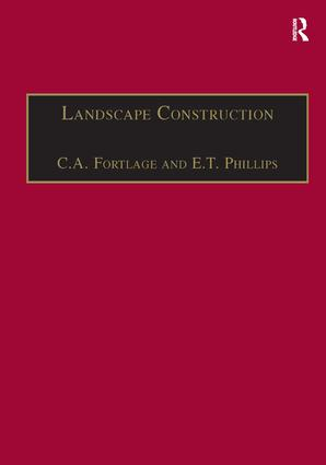 Landscape Construction: Volume 2: Roads, Paving and Drainage book cover