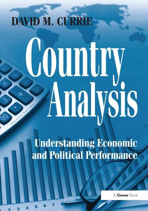 Country Analysis: Understanding Economic and Political Performance, 1st Edition (Hardback) book cover