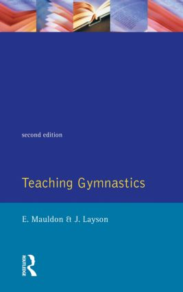Teaching Gymnastics: 2nd Edition (Paperback) book cover