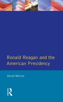 Ronald Reagan: The American Presidency, 1st Edition (Paperback) book cover