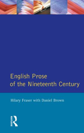 English Prose of the Nineteenth Century: 1st Edition (Paperback) book cover