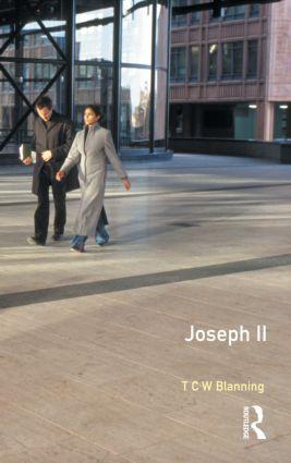Joseph II book cover