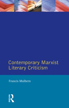 Contemporary Marxist Literary Criticism book cover